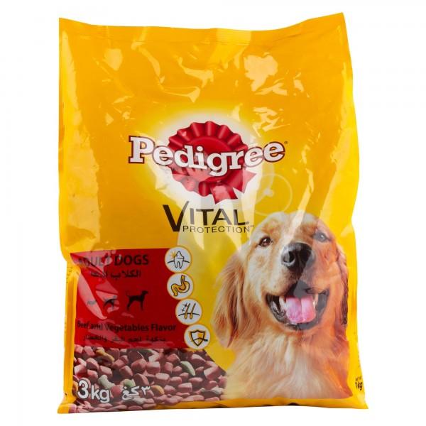 Pedigree Adult Dogs Vital Protection Beef & Vegetables Flavor 3Kg 361957-V001 by Pedigree
