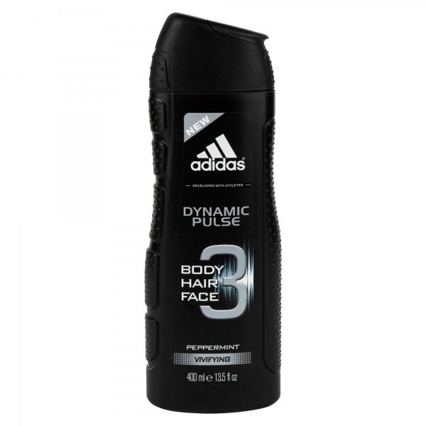 Adidas Shower Gel Dynamic Pulse Vivifying 3 In 1 400ml 364113-V001 by Adidas