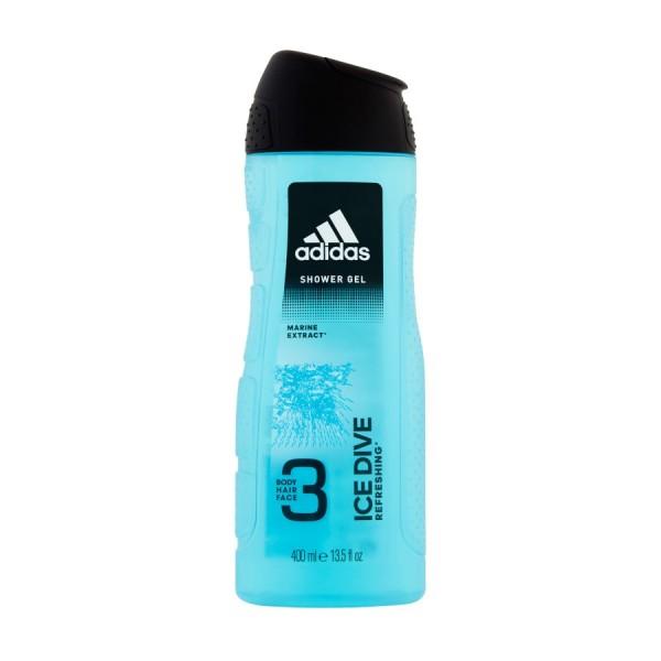 Adidas Ice Dive Shower Gel 400ml 364115-V001 by Adidas