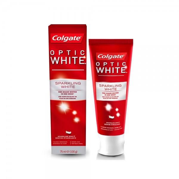 Colgate Optic White Sparkling White Whitening Toothpaste 75 ml 364567-V001 by Colgate
