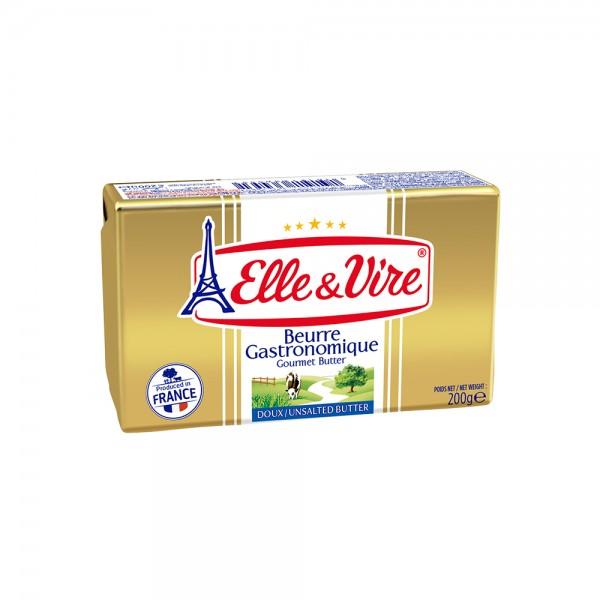 Elle & Vire Butter 200g 364582-V001 by Elle & Vire