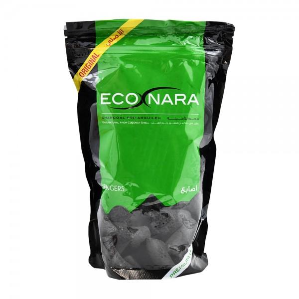 Econara Charcoal Short Fingers Bag - 500G 364619-V001 by Econara