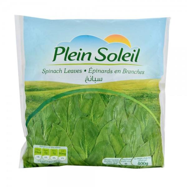P.Soleil Spinach Leaves - 400G 366001-V001 by Plein Soleil