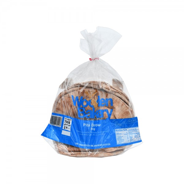 Wooden Bakery Pita Bran Big Bag 7 loaves 700g 368012-V001 by Wooden Bakery