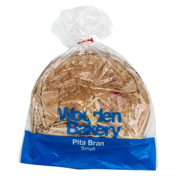 Wooden Bakery Pita Bran Small 7 Loaves 360G 368015-V001 by Wooden Bakery