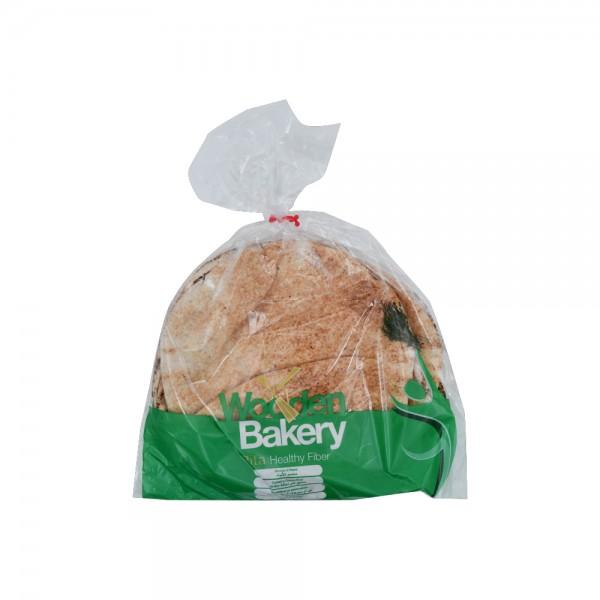 Wooden Bakery Pita Healthy Fiber 7 Loaves 350g 368017-V001 by Wooden Bakery