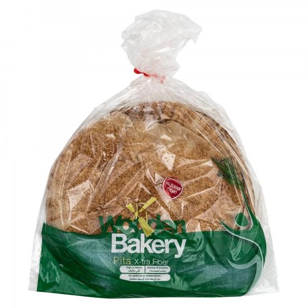 Wooden Bakery Pita X-Tra Fiber 8 Loaves 350G 368018-V001 by Wooden Bakery