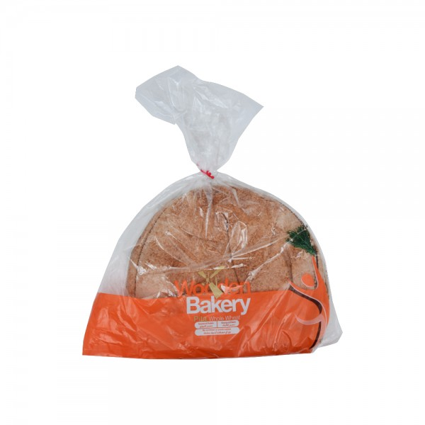 Wooden Bakery Pita Whole Wheat 7 Loaves 450g 368021-V001 by Wooden Bakery