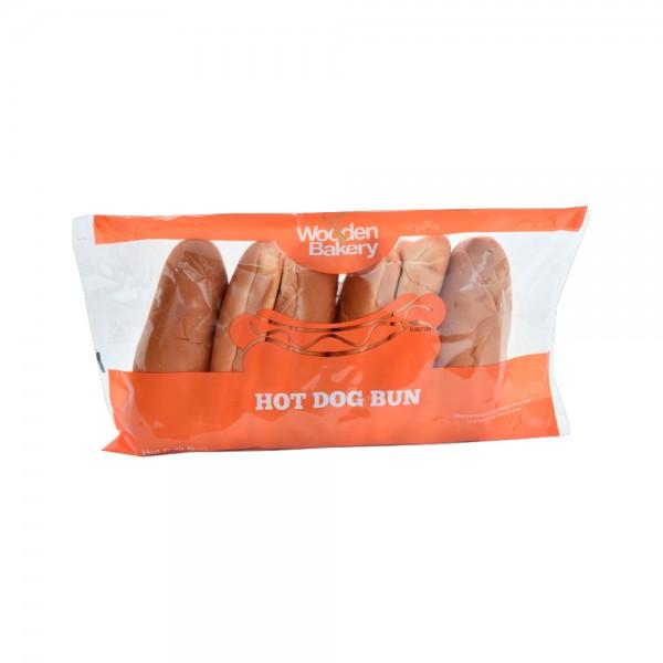 Wooden Bakery Hot Dog Bun 6PCS- 350g 368049-V001 by Wooden Bakery