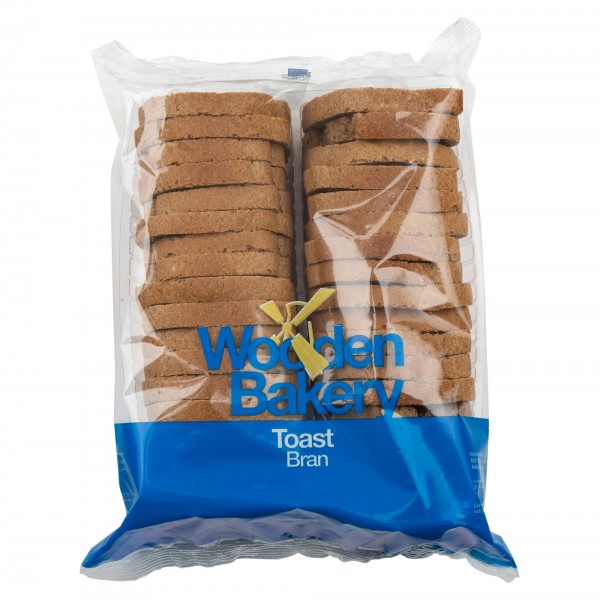 Wooden Bakery Toast Bran 36 Slices 260G 368069-V001 by Wooden Bakery