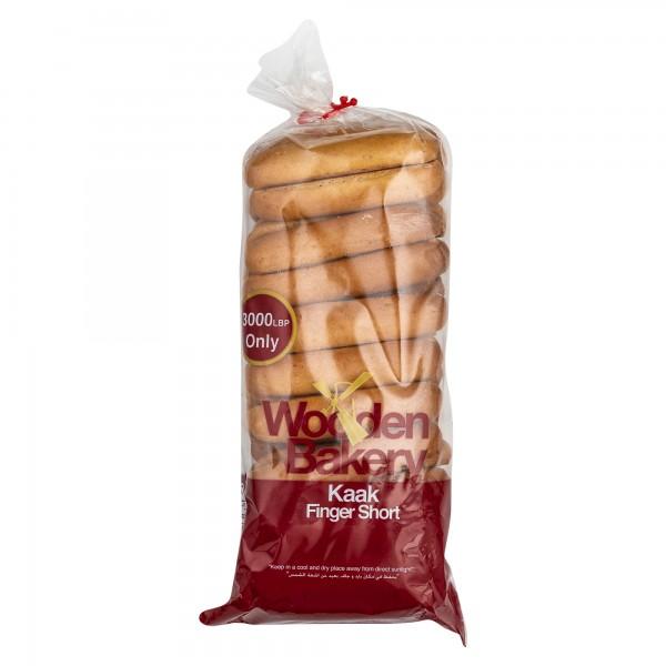 Wooden Bakery Kaak Finger Short 400G 368079-V001 by Wooden Bakery