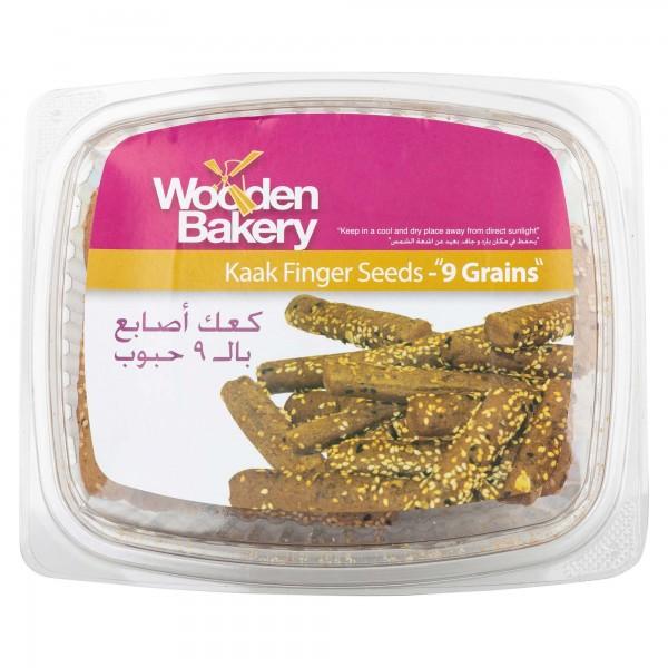 Wooden Bakery Kaak Finger Sesame Short 400G 368080-V001 by Wooden Bakery
