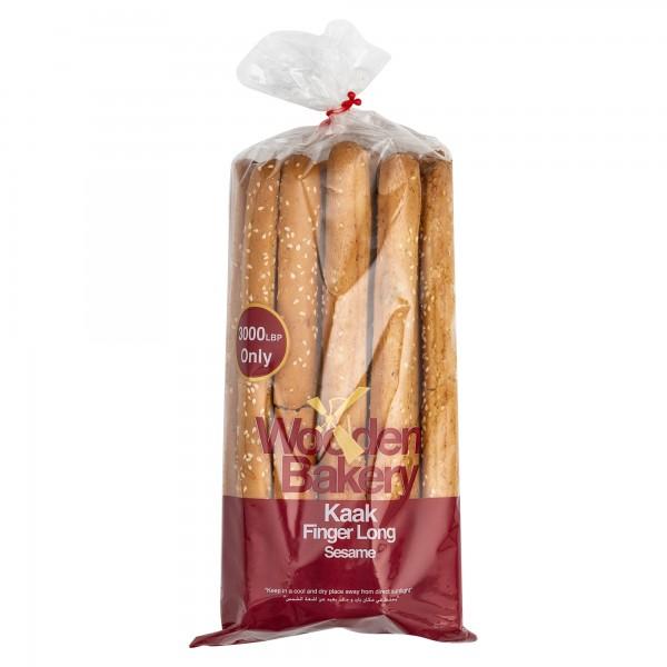 Wooden Bakery Kaak Finger Sesame Long 400G 368084-V001 by Wooden Bakery
