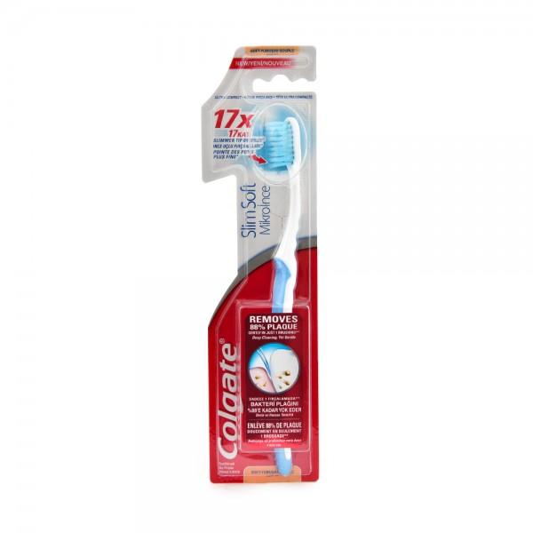 Colgate Slim Soft Advance Multipack Toothbrush 2pk 369017-V001 by Colgate