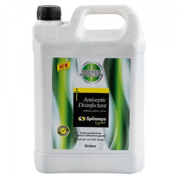 Spinneys Antiseptic Disinfectant 5L 370670-V001 by Spinneys Essentials