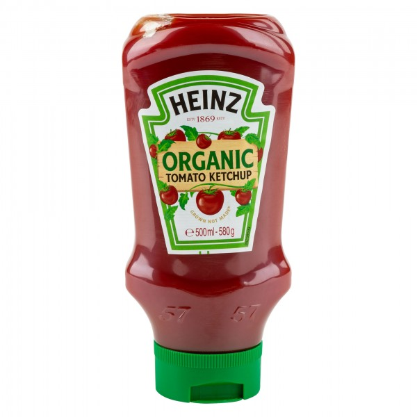 Heinz Organic Tomato Ketchup 580G 371144-V001 by Heinz