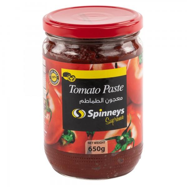 Spinneys Tomato Paste 650g 372929-V001 by Spinneys Food