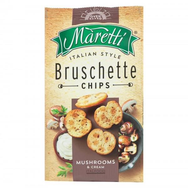 Maretti Bruschette Chips Mushrooms & Cream 70G 373410-V001 by Maretti