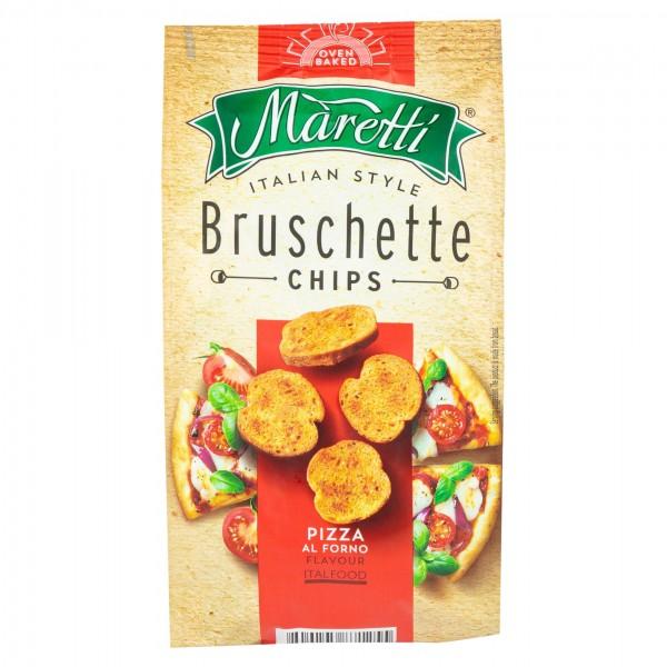 Maretti Bruschette Chips Pizza Al Forno Flavor 70G 373416-V001 by Maretti