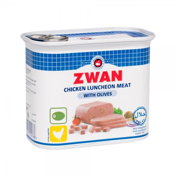 Zwan Chicken Lm Olive  - 340G 373842-V001 by Zwan