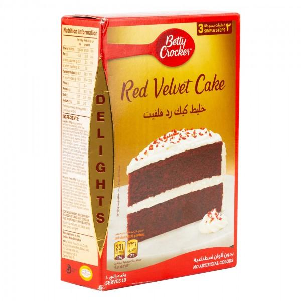 Betty Crocker Red Velvet Cake Mix 395G 374738-V001 by Betty Crocker