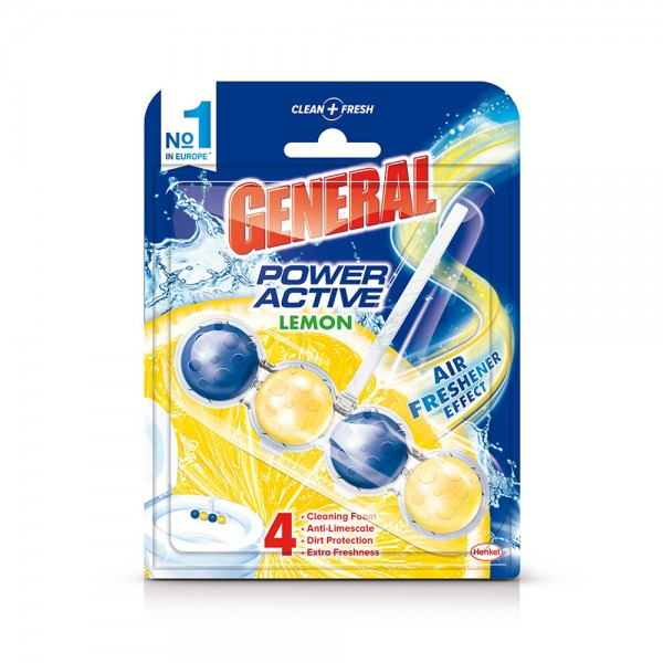 DER GENERAL TC Blocks Maximum fragrance Lemon 50G 375306-V001 by Der General