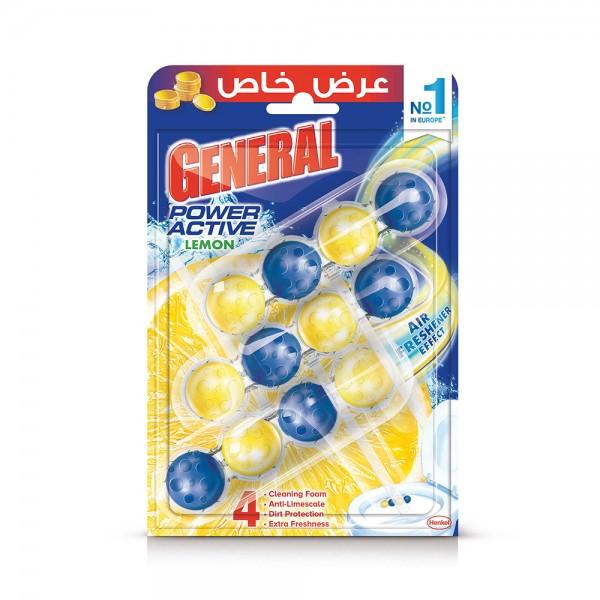 Der General Toilet Block Lemon Scent 150g 375306-V002 by Der General
