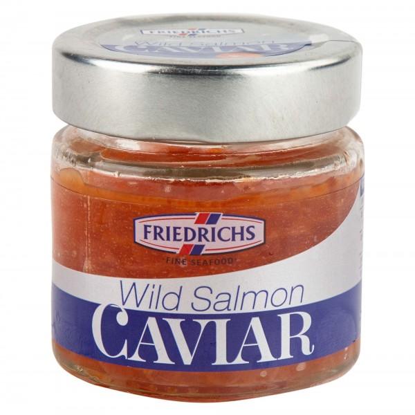 Friedrichs Wild Salmon Caviar Jar 100G 376925-V001 by Friedrichs