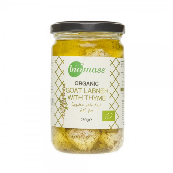 Biomass Sml Goat Labneh Olive Oil with Thyme 377940-V001 by Biomass