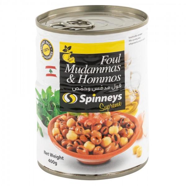 FOUL MUDAMMAS+HOMMOS 379801-V001 by Spinneys Food