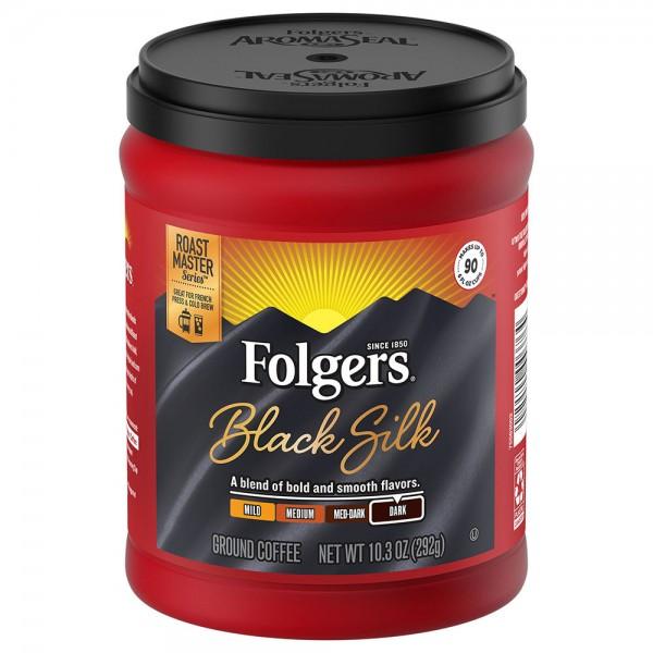 Folgers Folgers Black Silk 10.3Oz 381475-V001