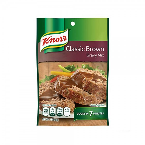 GRAVY MIX CLASSIC BROWN 381779-V001 by Knorr