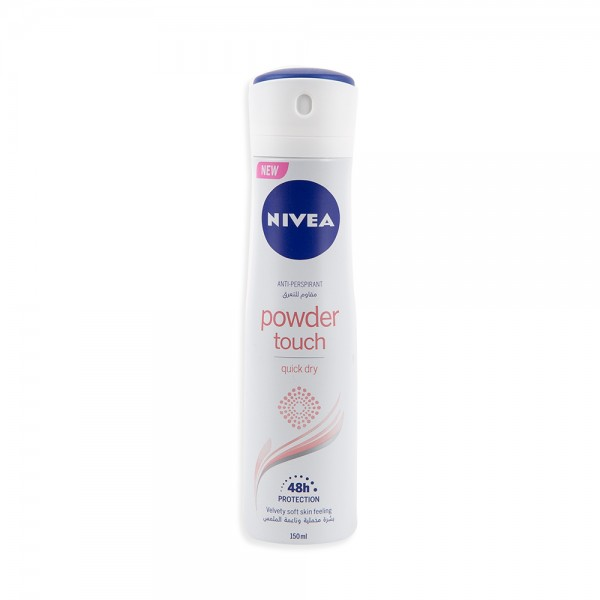 Nivea Deodorant Powder Touch For Her 150ml 384379-V001 by Nivea
