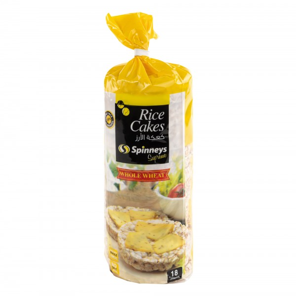 Spinneys Whole Wheat Rice Cakes 18 Pc 385767-V001 by Spinneys Supreme