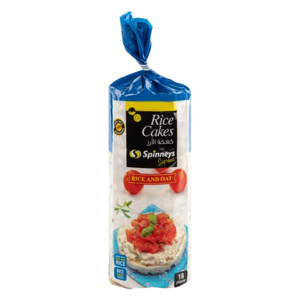 Spinneys Rice & Oat Rice Cakes 18 Pc 385768-V001 by Spinneys Food