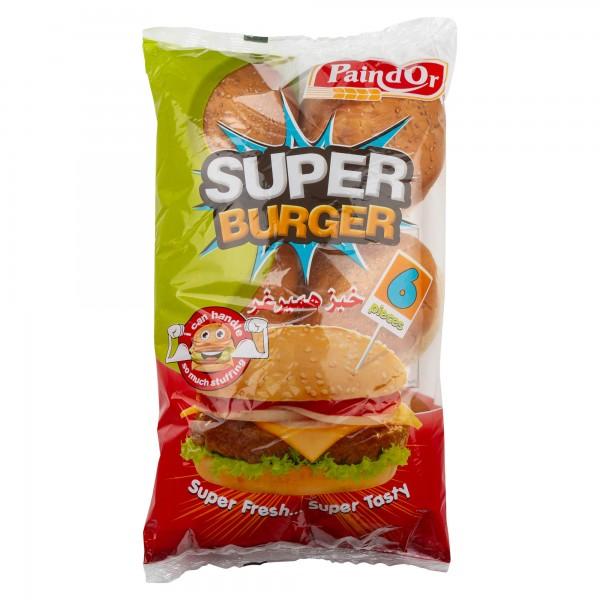 Pain d'Or Hamburger Bread With Sesame 460G 386305-V001