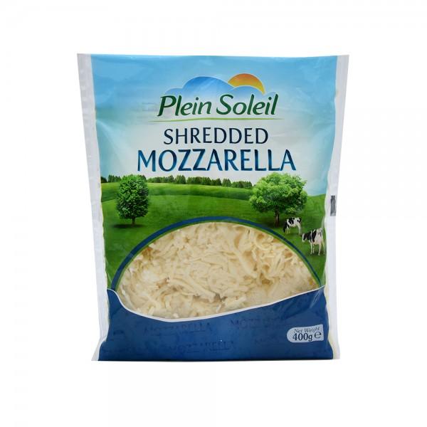 Plein Soleil Mozzarella Shredded 400g 386683-V001 by Plein Soleil