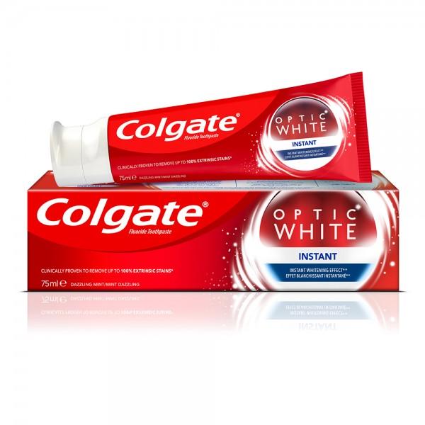 Colgate Optic White Instant Whitening Toothpaste 75ml 390494-V001 by Colgate
