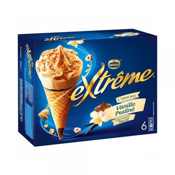 ADELIE CONE VANILLE PRALINE*6 390887-V001 by Nestle