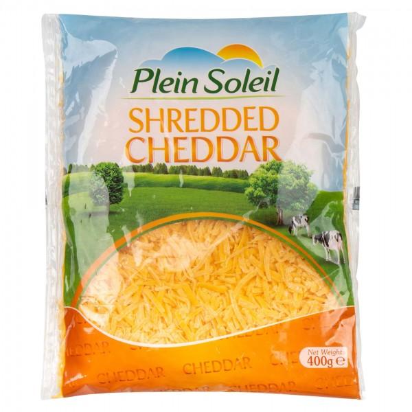 Plein Soleil Shredded Cheddar 400G 391542-V001 by Plein Soleil