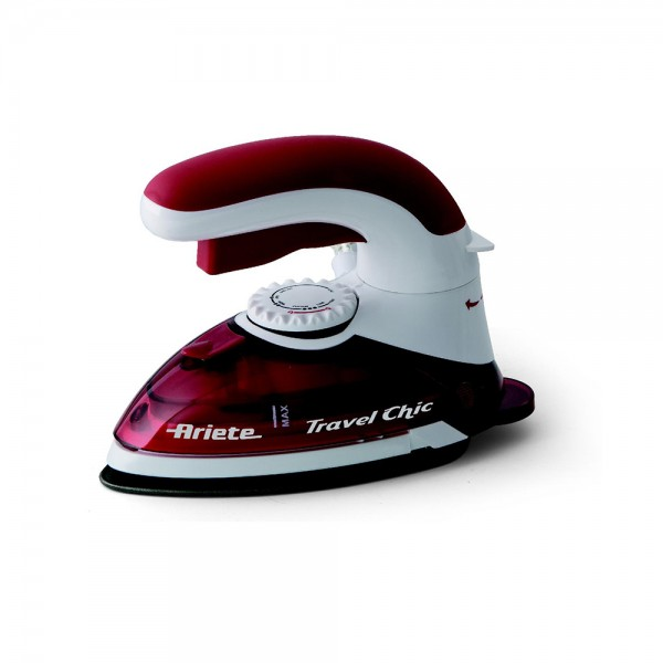 Ariete Travel Iron Red Color - 800W 391987-V001 by Ariete