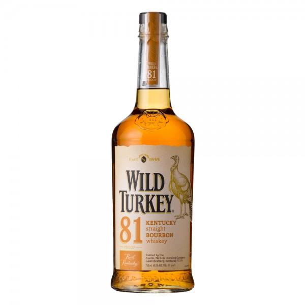 Wild Turky 81 Proof - 700Ml 392133-V001 by Wild Turkey