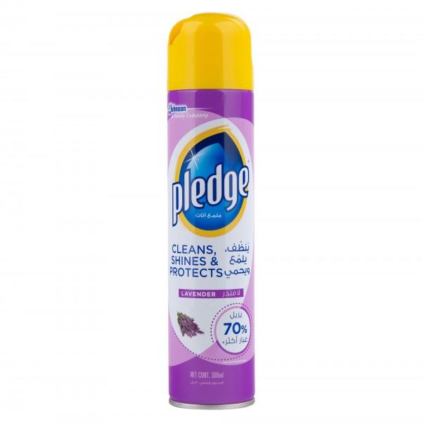 Pledge Multisurface cleaner Aerosol Fresh Lavender 300ml 393419-V001 by Pledge