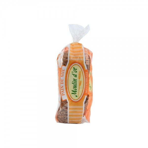Moulin D'Or Pain de mie Multicereal 450g 393588-V001 by Moulin d'Or