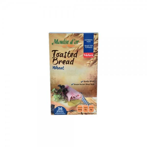 Moulin D'Or Toast Croustillant Ble 420g 393589-V001 by Moulin d'Or