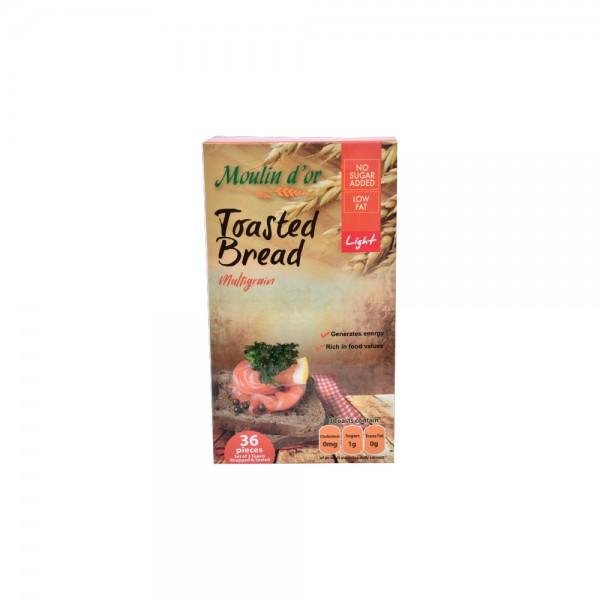 Moulin D'Or Toast Croustillant Multicereal 420g 393591-V001 by Moulin d'Or