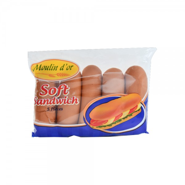 Moulin D'Or Soft Sandwich 280g 393596-V001 by Moulin d'Or