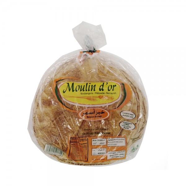PAIN ARABE BRUN MOYEN (25CM) 393635-V001 by Moulin d'Or
