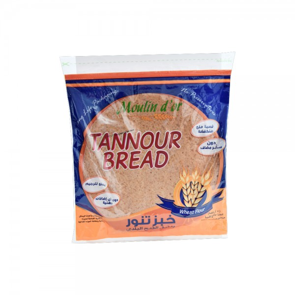 Moulin D'Or Pain Arabe Tannour 380g 393638-V001 by Moulin d'Or
