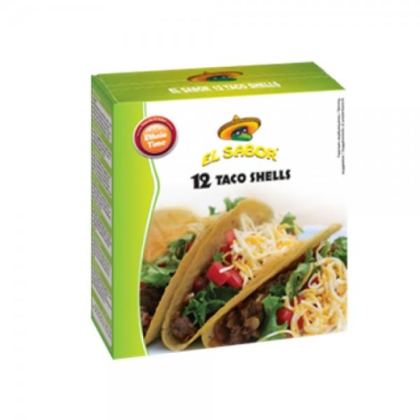 El Sabor Taco Shell 8x150g 394747-V001 by El Sabor
